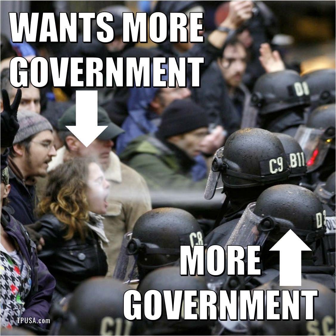 "Turning Point USA on Twitter: ""Shrink Government, Grow Freedom #BigGovSucks  https://t.co/ushqJkq80X"""
