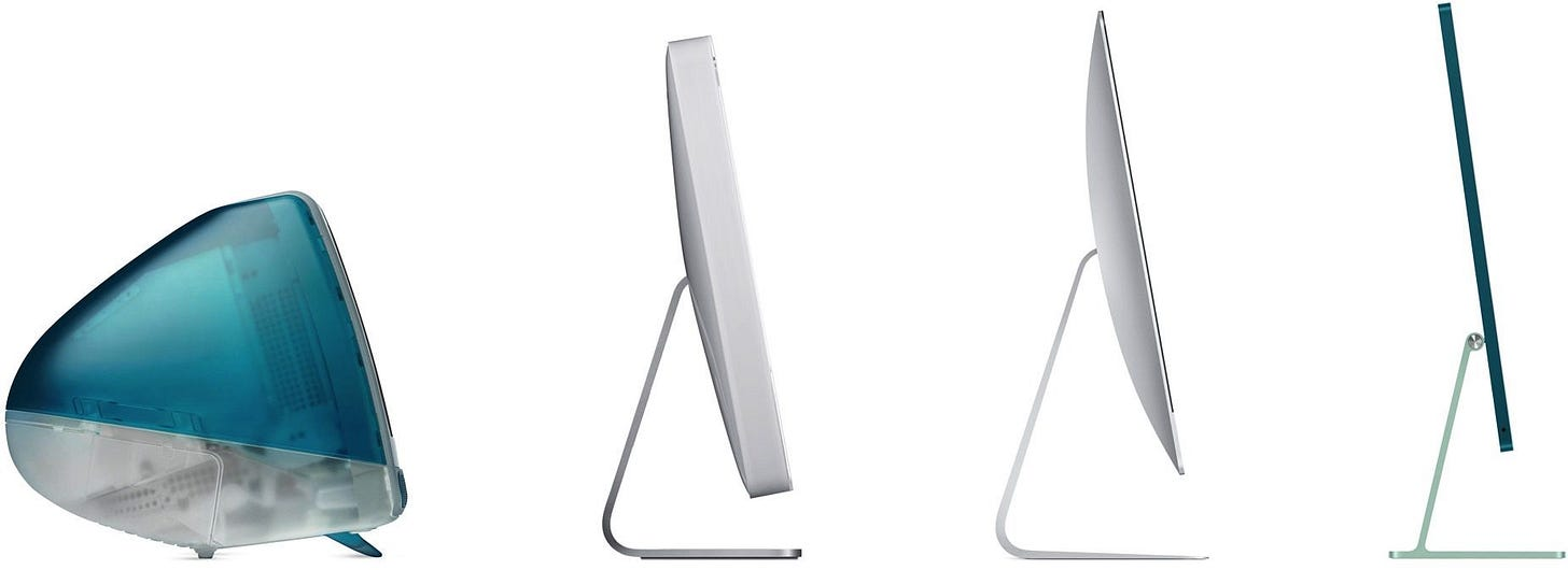 The New Apple iMac is a Demonstration of Decoupling