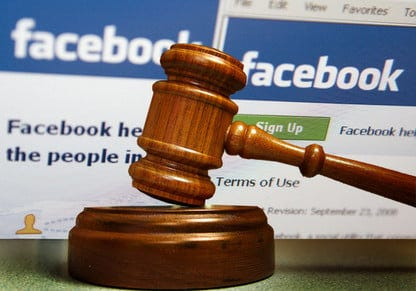 Image result for facebook court