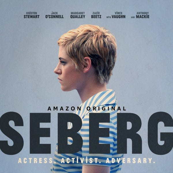 Monday Movie Review: Seberg - falon loves life