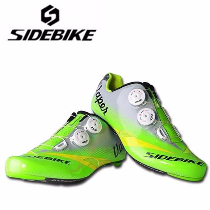 Sidebike carbon fiber sapatilha ciclismo road cycling shoes add pedal set racing road bike men professional bicycle sneakers