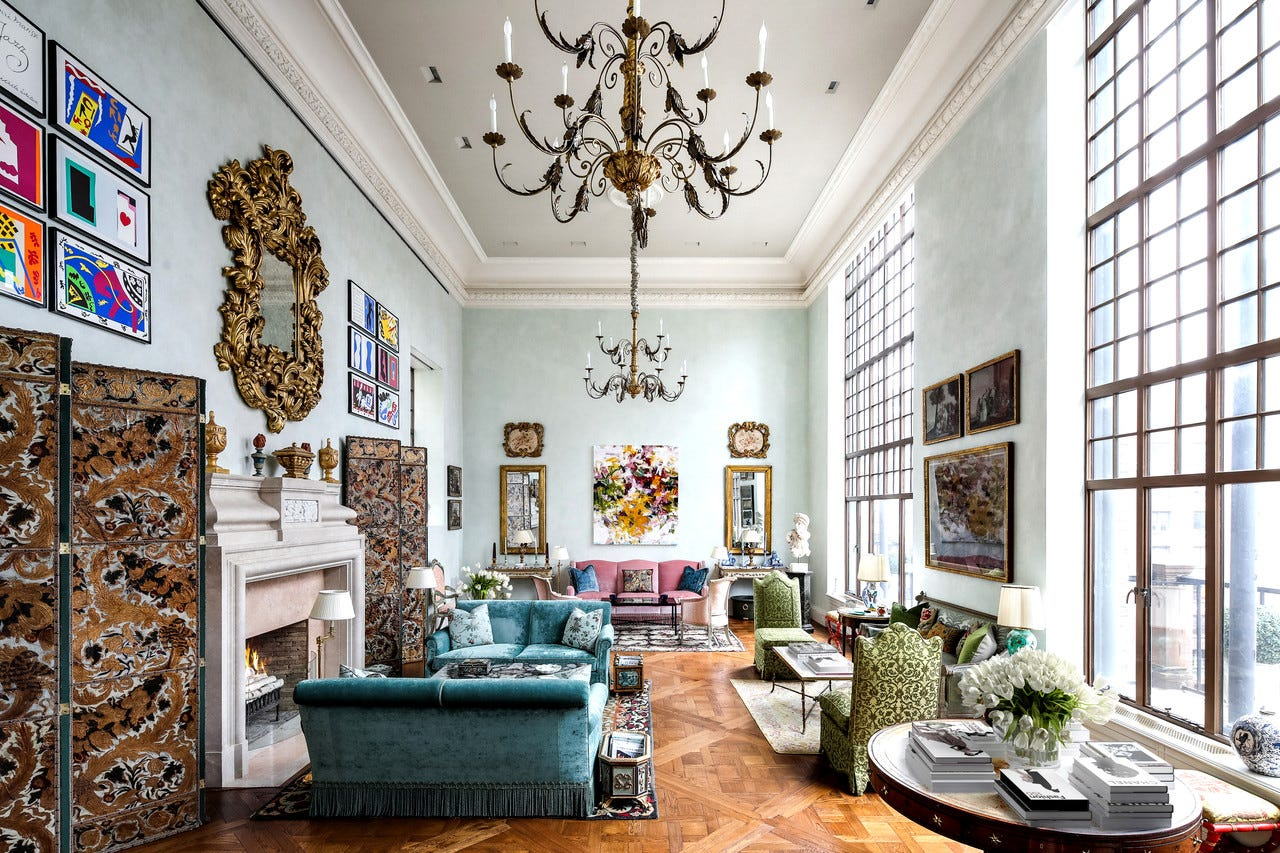 Clare and Tony White purchased this apartment in a prewar co-op on Manhattan's Upper East Side after selling their townhome just blocks away. Mrs. White lived in three homes in the neighborhood in the span of three decades. 'I guess I'm restless,' she said. 'I love finding a property that's unusual and has great bones. I find that often times, they're not living up to their potential.'