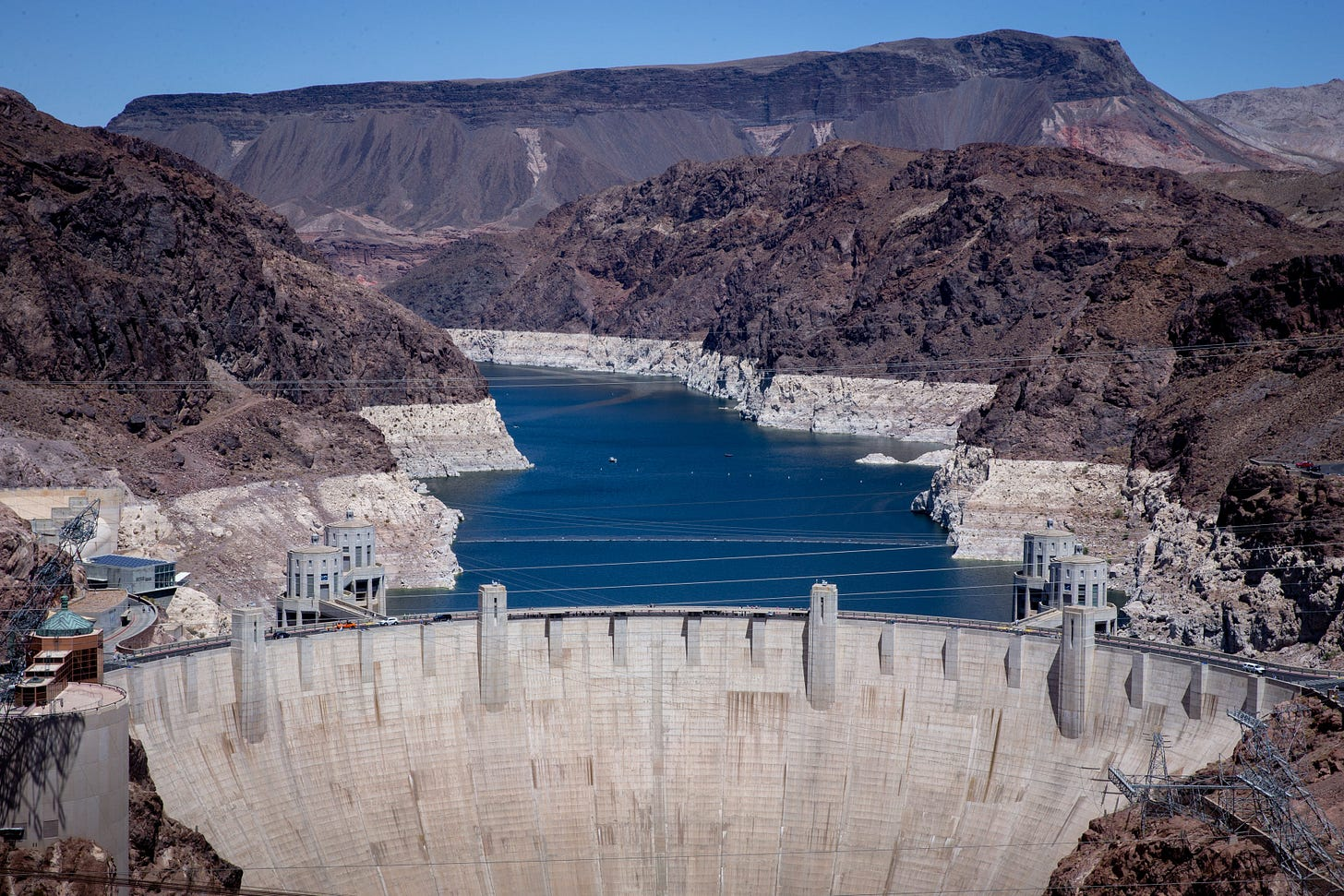 Lake Mead water lowest since Hoover Dam built as shortage continues