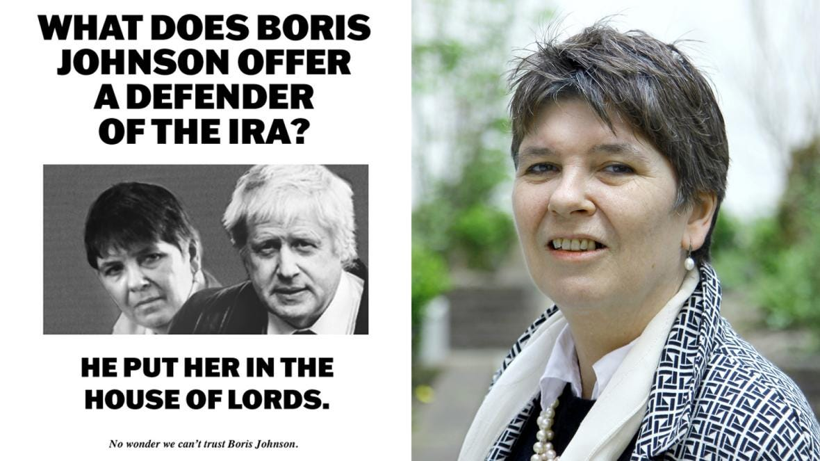 Labour uses Tories' IRA jibe to target Lady Brexit, Claire Fox   News   The  Sunday Times
