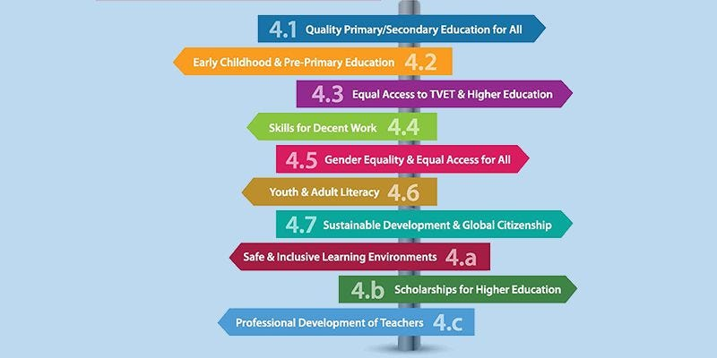 Paving the Road to Education: A Target-by-target Analysis of SDG 4 for Asia  and the Pacific | UNESCO Bangkok