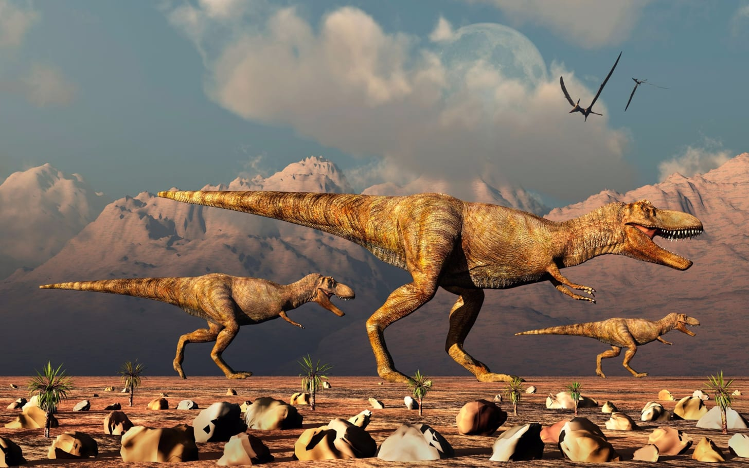 Billions of T. rex likely roamed the Earth, paleontologists report
