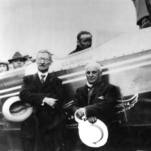 Image result for first flight western airlines 1926