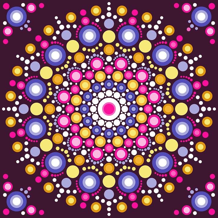 De L'Art Avec Des Points, Résumé, Mandala