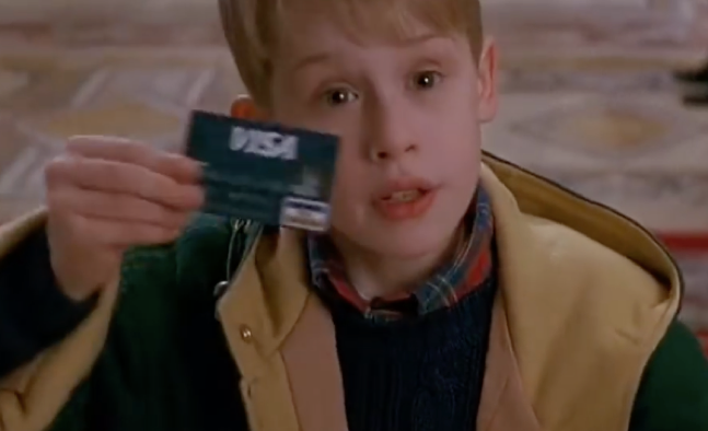 Credit Card. You got it.   Voyage Financial