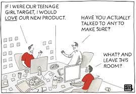 Success starts with understanding your customers When Frank proposed that  we create the book, he had the spectacular idea that we approach Tom  Fishburne and ask him to do a series of illustrations. And deliver Tom did,  with a series of cartoons poking ...