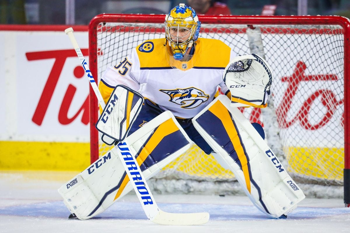 Predators Sign Pekka Rinne to 2-Year, $10 Million Contract - On the  Forecheck