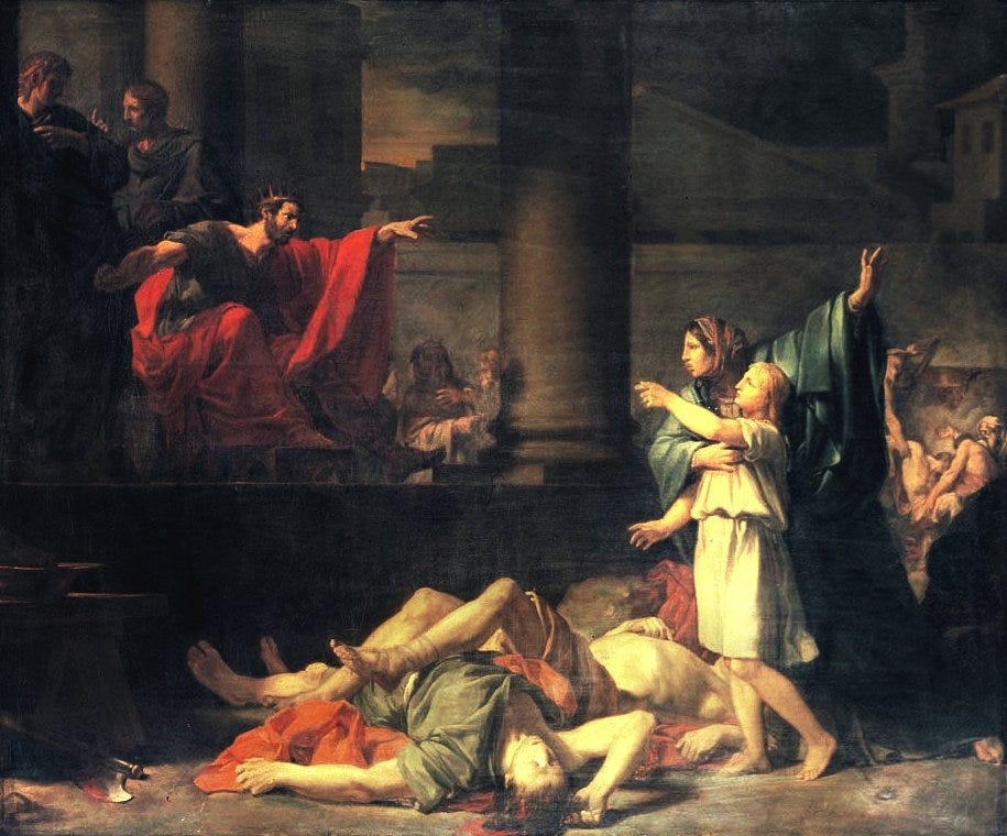The Faith of the Martyred Mother and her Seven Sons