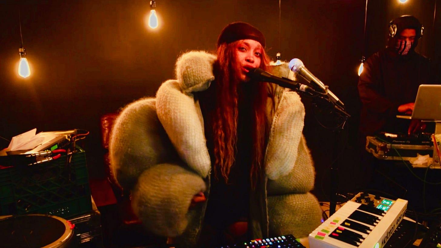 Erykah Badu Gets Deep About Her 'Quarantine Concert' Livestreams ...
