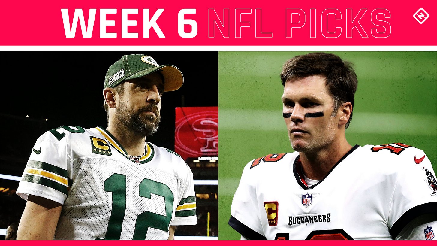 NFL picks, predictions against the spread for Week 6 | Sporting News