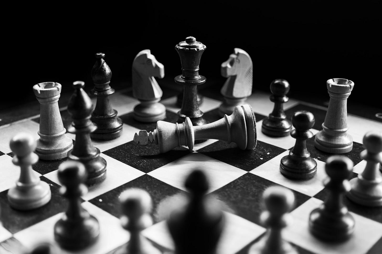 Photo of a chessboard. Felit Mittermeier / Unsplash