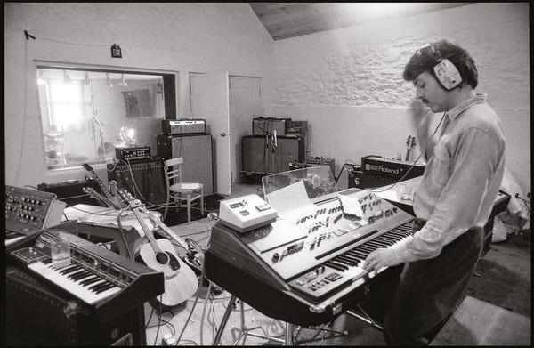 Paul McCartney's Yamaha CS-80 Synth