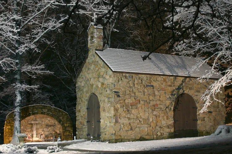 Portiuncula Chapel at Franciscan University of Steubenville Credit Robert Pernett via Flickr CC BY ND 20 CNA