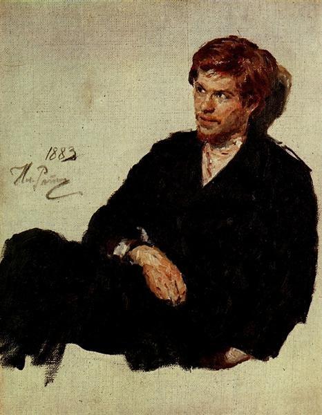 Student Nihilist, 1883 - Ilya Repin - WikiArt.org