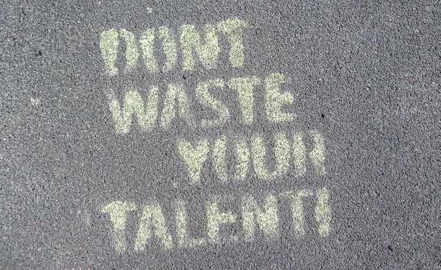 Graffiti : don't waste your talent