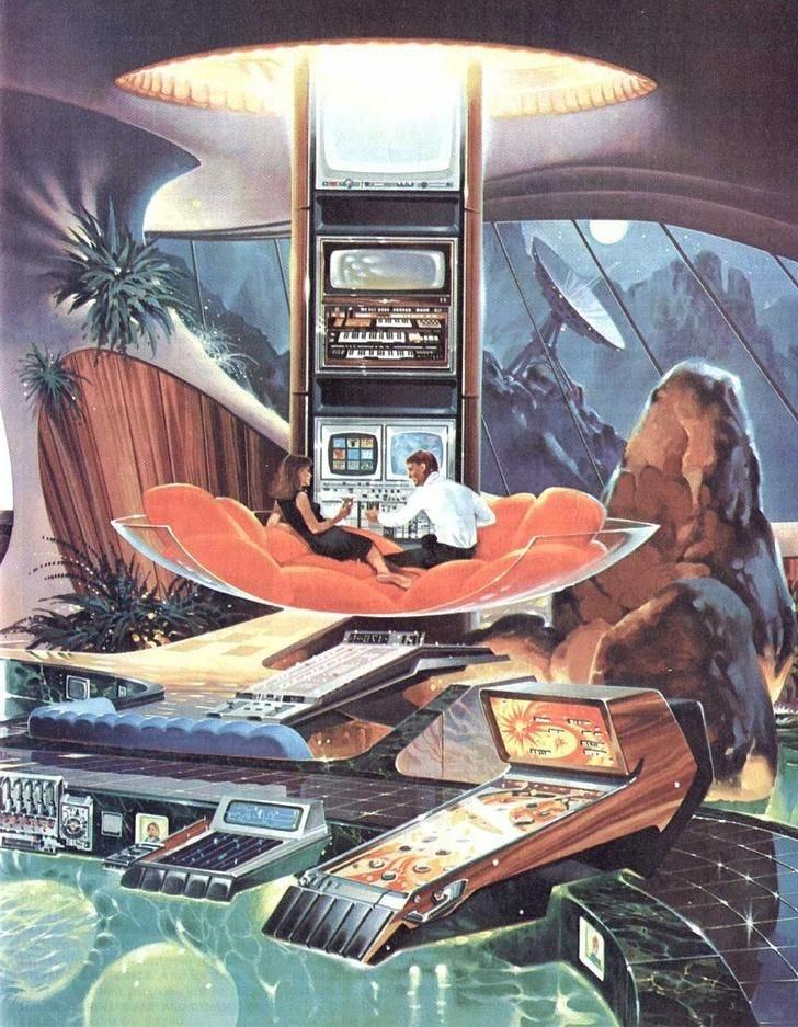 top scoring links : RetroFuturism | Retro futurism, Retro futuristic, Sci  fi art