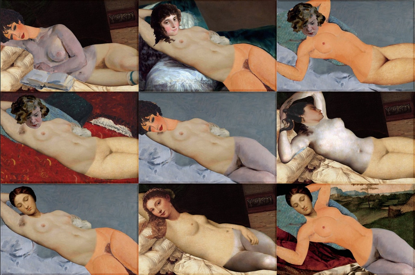 the Remixable Reclining Nude by Fabiello