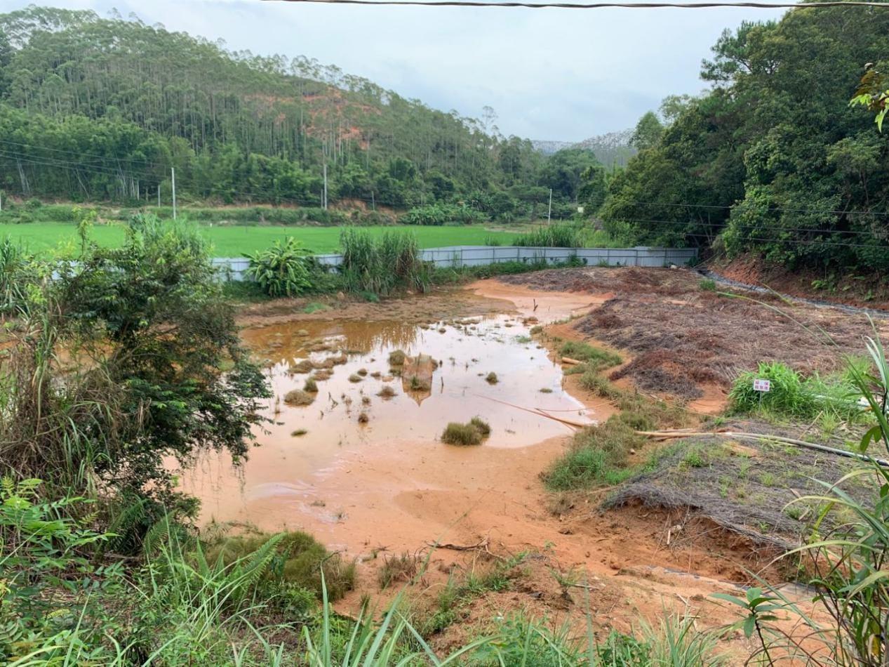 Figure 3 Wuzhou Rare Earth Mining Co., Ltd. Tengxian Rare Earth Mine Environmental Protection Emergency Pool