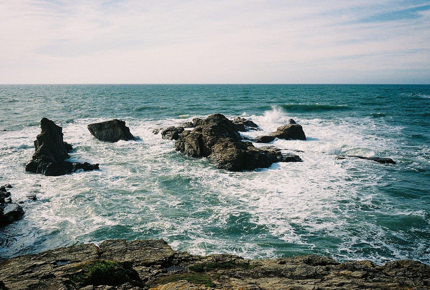 La mer en bretagne © Paul Atlan 2020