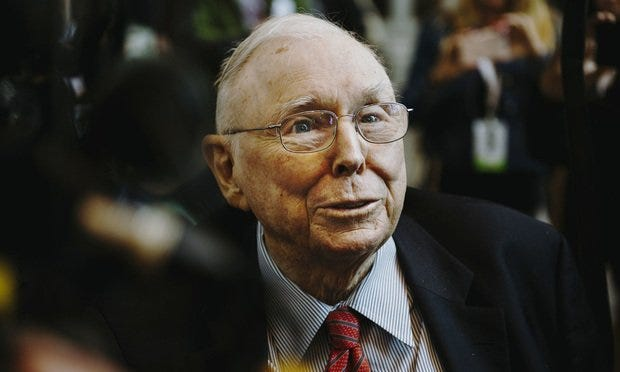 Be Like Charlie Munger When It Comes to Investing in Yourself | Law.com