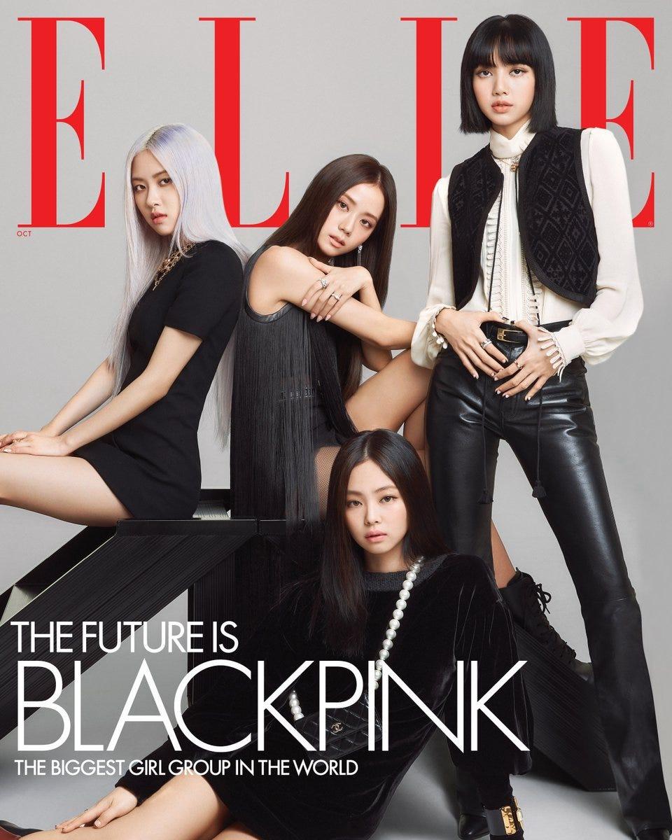 BLACKPINK Stars in ELLE's October Issue