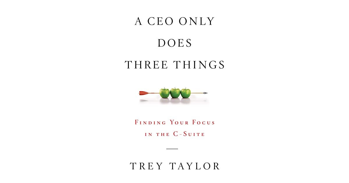 Image result for a ceo only does 3 things amazon