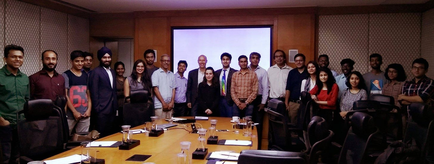 May be an image of 12 people, including Samar Sikka and people smiling