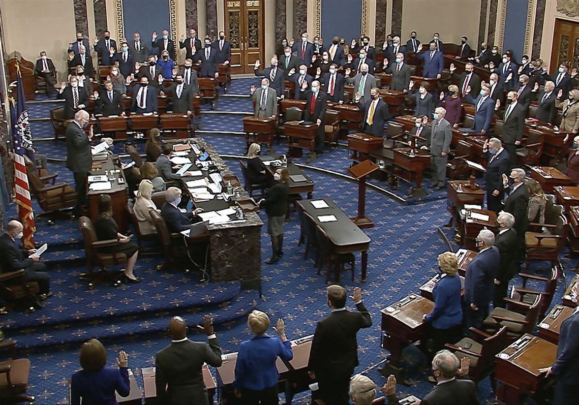 45 GOP senators vote to halt impeachment trial | The Blade