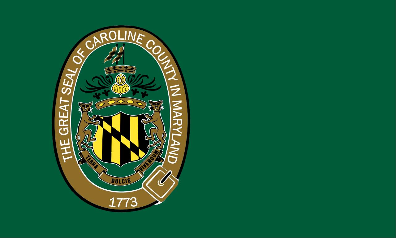 Flag of Caroline County, Maryland.svg