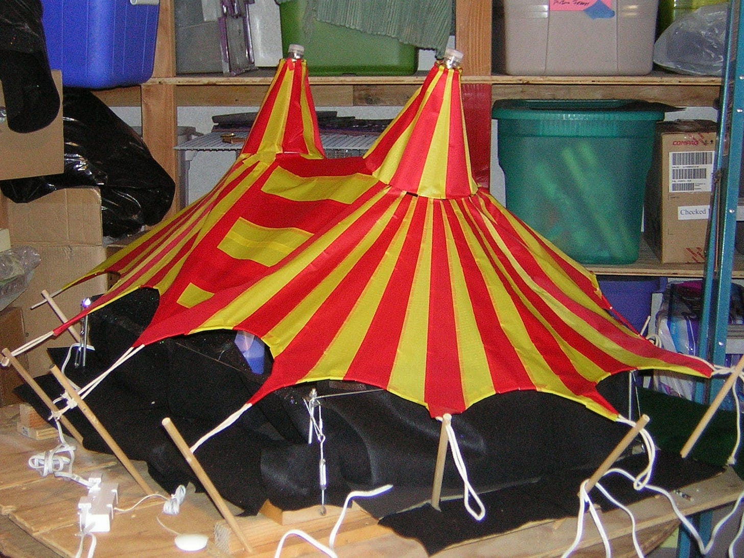 Circus Tent Stage : 12 Steps - Instructables