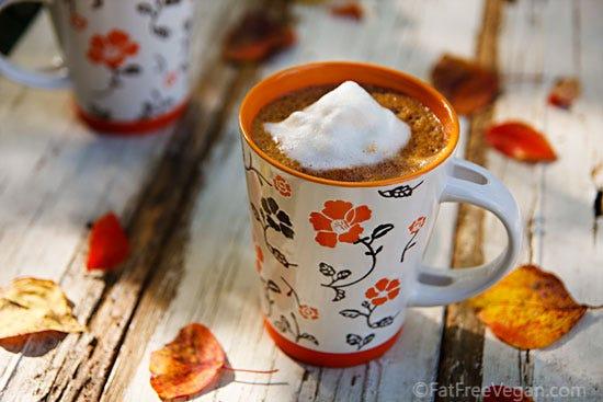 Spiced Pumpkin Hot Chocolate