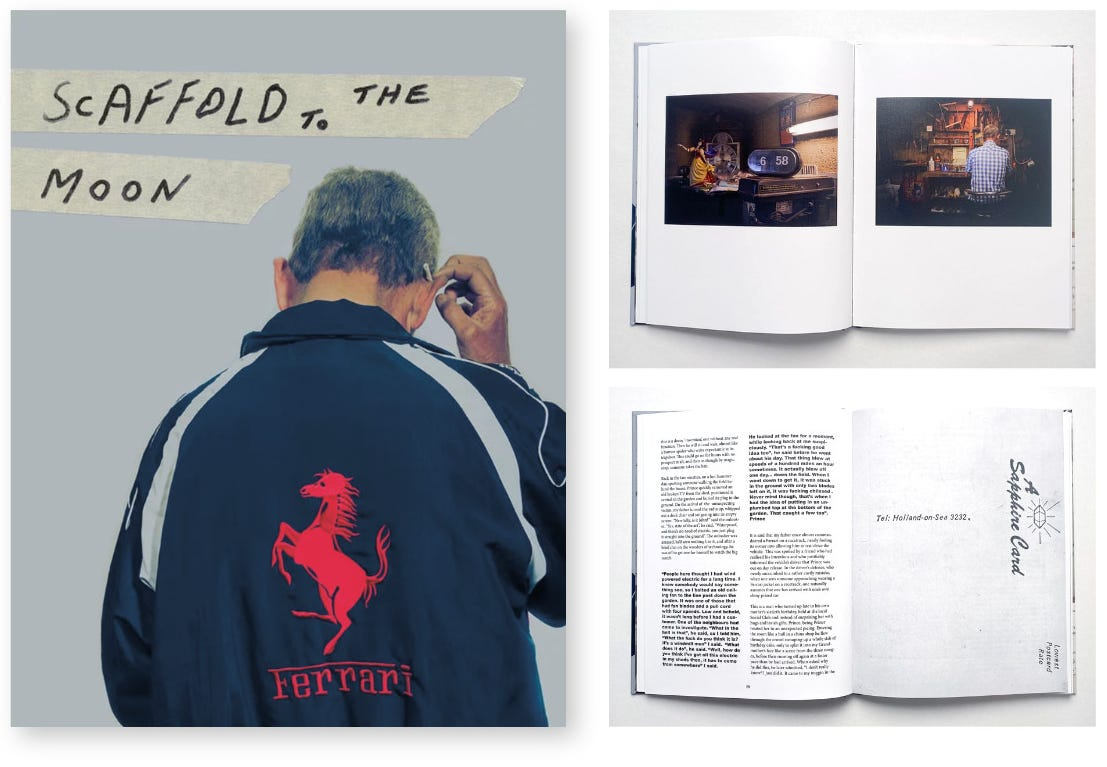 'Scaffold to the Moon' - the new photobook by Huw Alden Davies published by iPigeon. © Huw Alden Davies