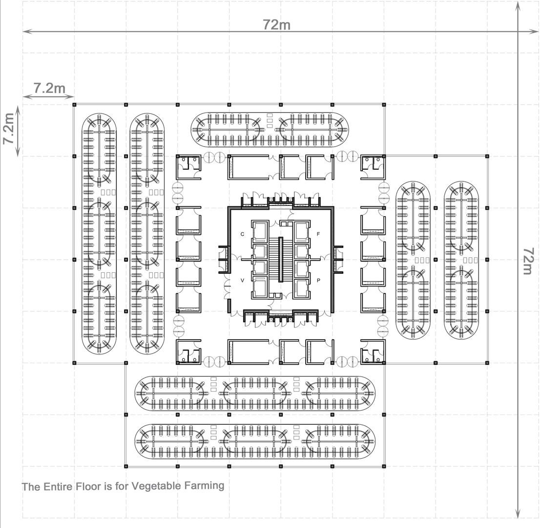 version4 - floorplan of hydroponic vegetable farms