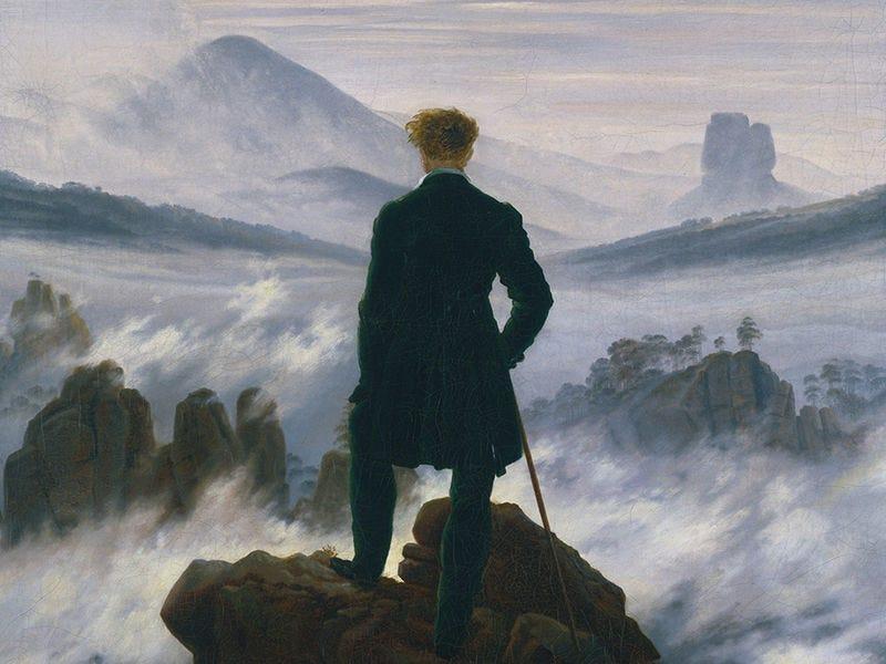 "The Mysteries behind Caspar David Friedrich's ""Wanderer above the Sea of  Fog"" - Artsy"