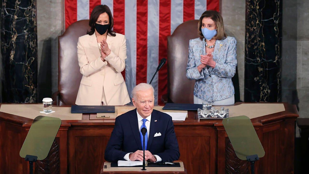 It's about time': Harris, Pelosi make history at Biden speech | Eyewitness  News (WEHT/WTVW)