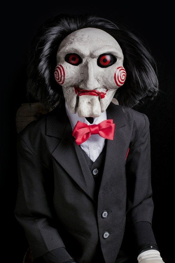 Jigsaw from The Saw movies
