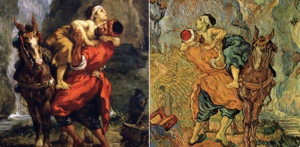 The Good Samaritan by Delacroix