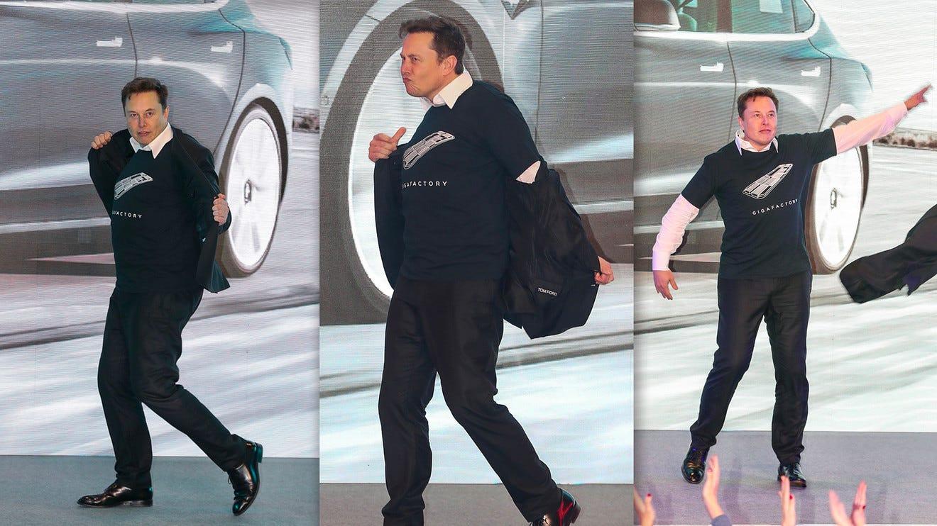 Elon Musk says his 'NSFW' dance was just an effort to gain Pornhub  followers - MarketWatch