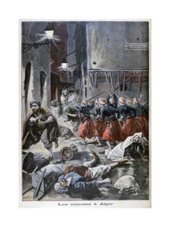 Image result for anti jewish riots algiers