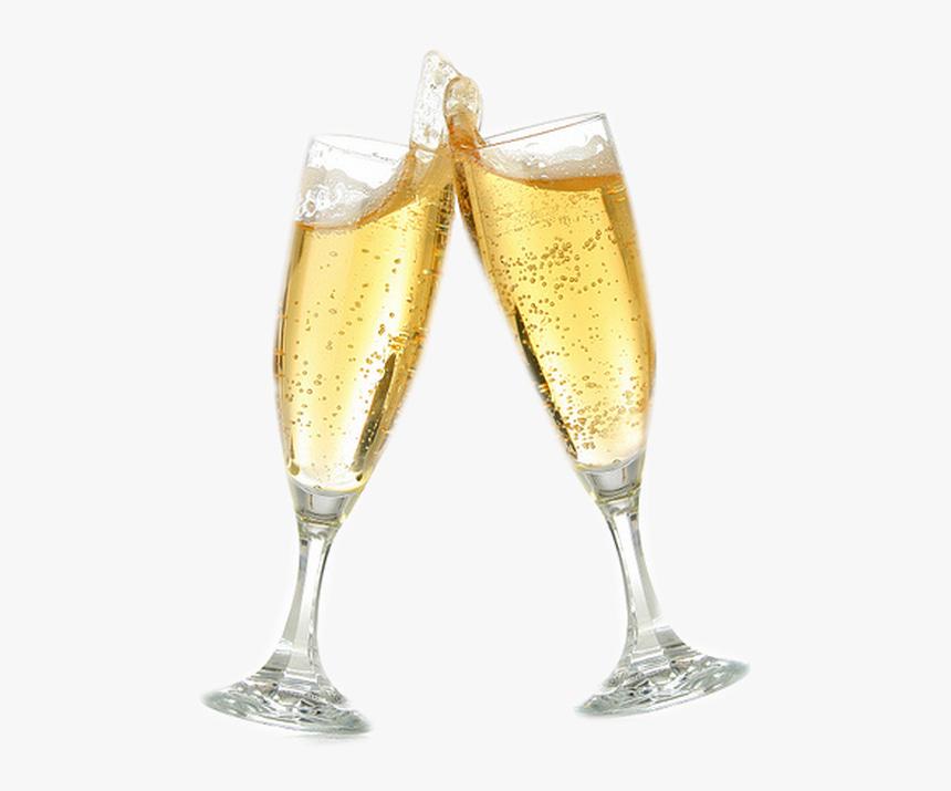 Champagne Toast Png, Transparent Png - kindpng