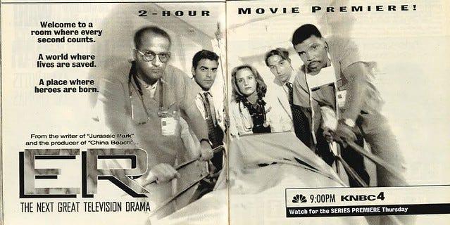 ER 1994 premiere ad