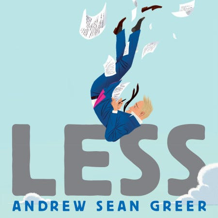 Image result for less andrew sean greer""
