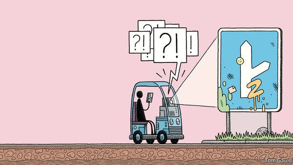 Driverless cars show the limits of today's AI.