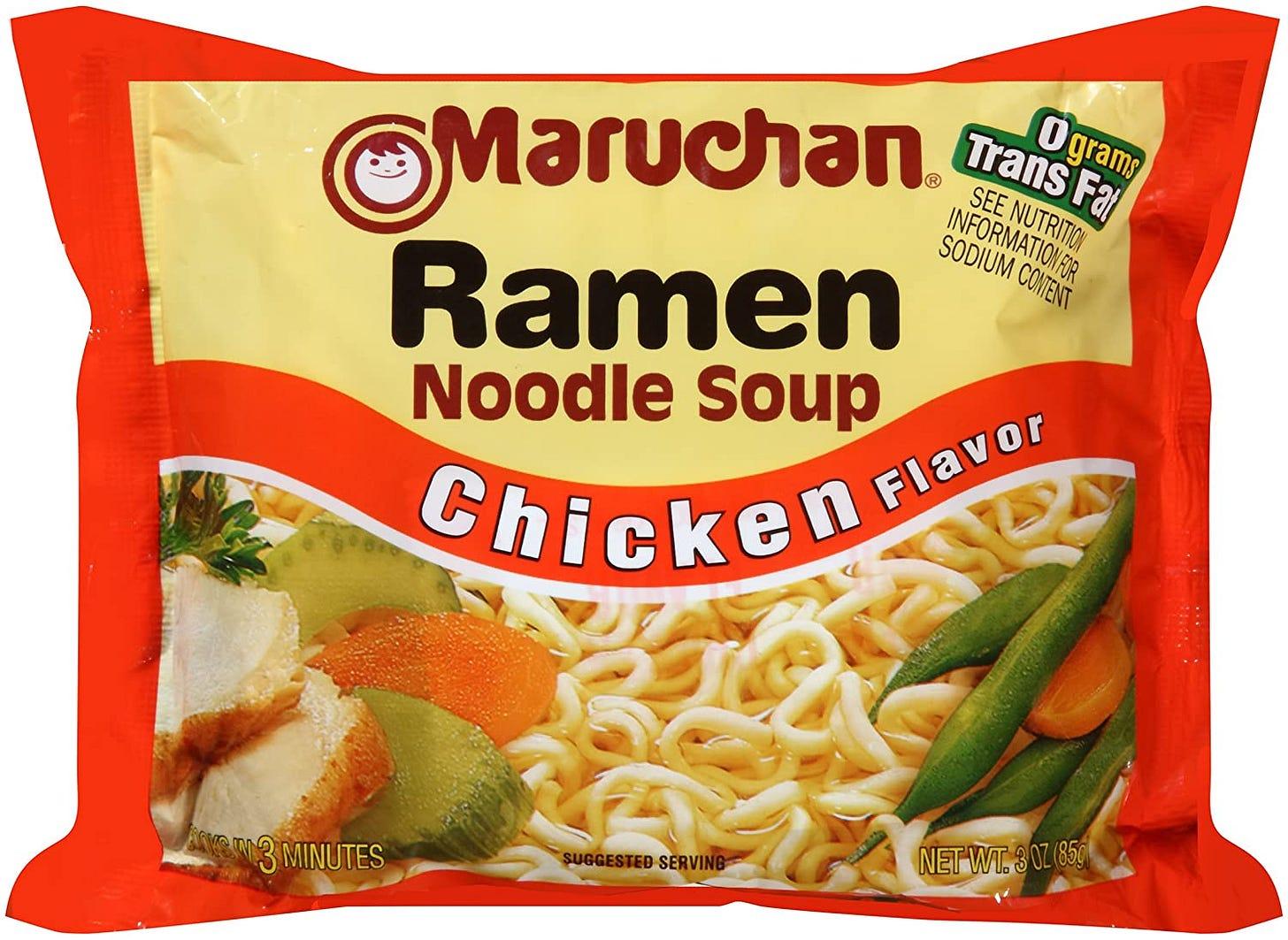 Maruchan Ramen Noodle Soup - 36/3oz: Amazon.ca: Grocery