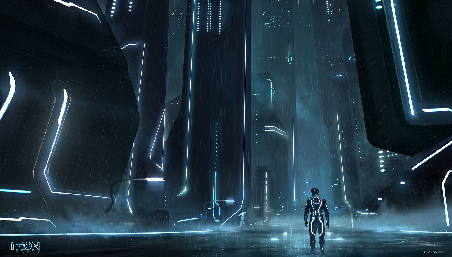 The Grid -- TRON [3840x2182] : wallpapers