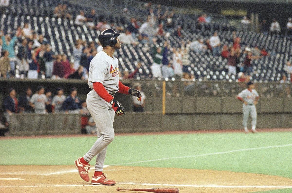The night Mark Whiten made baseball history | Baseball | stltoday.com
